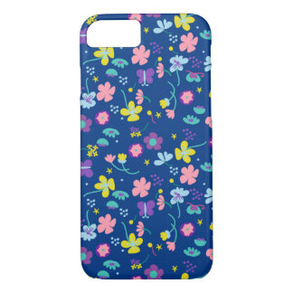 Fantasia floral capa iPhone 7