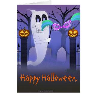 Cartão Fantasma com cartão da máscara
