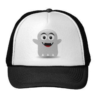 Fantasma de sorriso amigável dos desenhos animados bones
