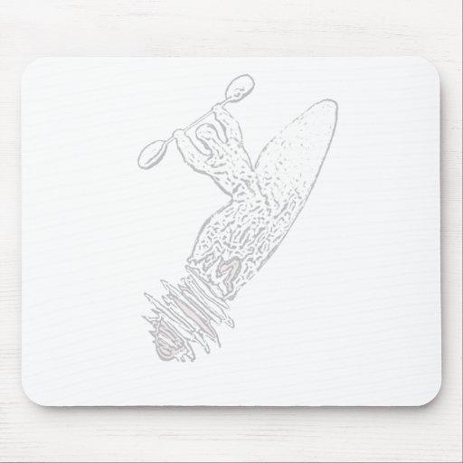Fantasma do caiaque mousepad