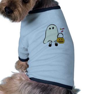 Fantasma do Dia das Bruxas Roupa Pet
