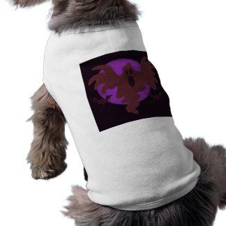 Fantasma do Dia das Bruxas Camisa Para Caes