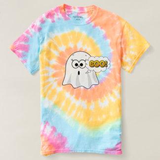 Fantasma feliz do Dia das Bruxas que diz a camisa