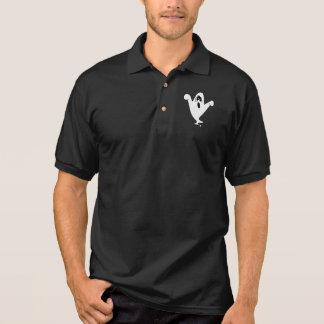 Fantasma o Dia das Bruxas do urro Camisa Polo