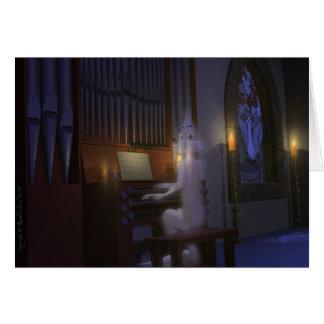 Cartão Fantasma que joga o cartão do órgão