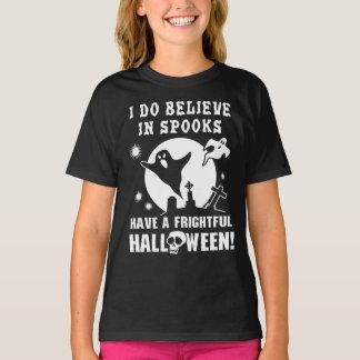 Fantasmas do Dia das Bruxas Camiseta