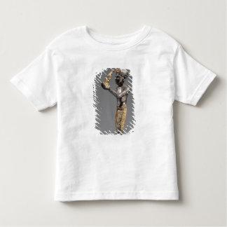 Faraó que faz um oferecimento antes da deusa Maat T-shirt