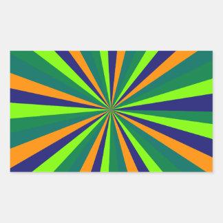 Farbexplosion Adesivo Retangular