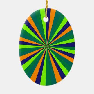Farbexplosion Ornamento De Cerâmica