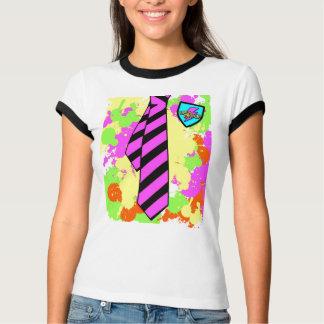 Farda da escola glam de néon t-shirts