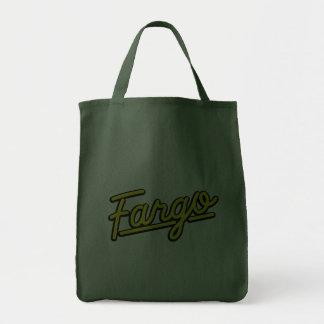 Fargo no amarelo bolsa de lona