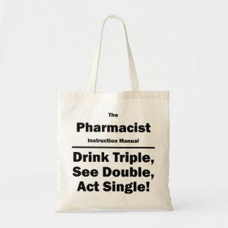 farmacêutico bolsa tote