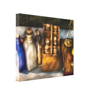 Farmacêutico - medicina do campo impressão em canvas