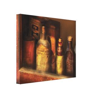 Farmacêutico - tónicos de Mircle Impressão De Canvas Envolvidas