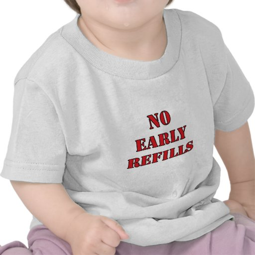 Farmácia - nenhuns reenchimentos adiantados t-shirt