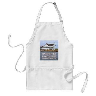 Farol baixo do rio, avental do cozinhar de