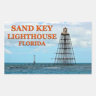 Farol chave da areia, etiquetas de Florida