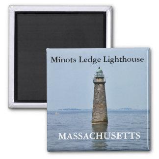 Farol da borda de Minots, ímã de Massachusetts