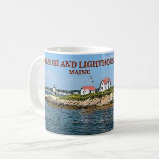 Farol da ilha da ram, caneca de Maine do porto de