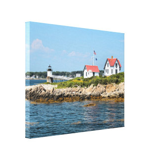 Farol da ilha da ram, impressão das canvas de