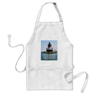 Farol da praia da ameixa, Rhode - avental da ilha