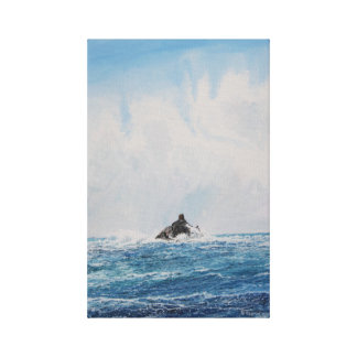 Farol da rocha da vitela: Impressão das canvas da