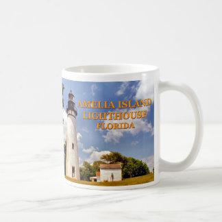 Farol de Amelia Island, caneca de Florida