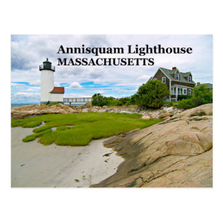 Farol de Annisquam, cartão de Massachusetts