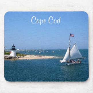 Farol de Nantucket Cape Cod & porto Mousepad