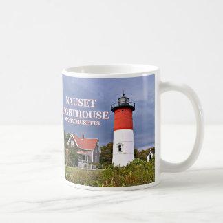 Farol de Nauset, Cape Cod, caneca de Massachusetts