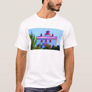 Farol de Newport na baía de Yaquina Camiseta