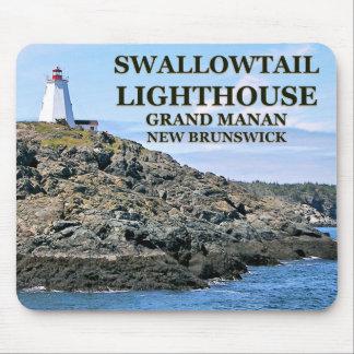 Farol de Swallowtail, Manan grande, N.B. Mousepad
