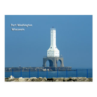 Farol de Washington do porto Cartões Postais