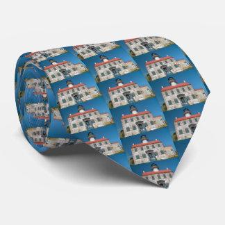 Farol do leste do ponto, laço dos homens de gravata
