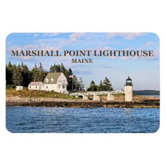 Farol do ponto de Marshall, ímã de Maine Flexi