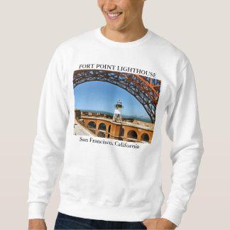 Farol do ponto do forte, San Francisco Califórnia Moletom