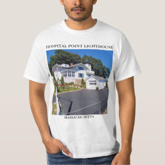 Farol do ponto do hospital, Massachusetts Camiseta