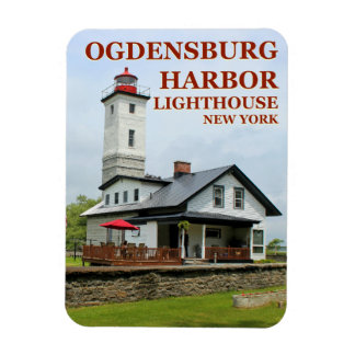 Farol do porto de Ogdensburg, ímã de New York
