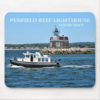 Farol do recife de Penfield, Connecticut Mousepad