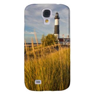 Farol grande do ponto do Sable no Lago Michigan Galaxy S4 Covers