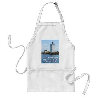Farol holandês da ilha, Rhode - avental da ilha
