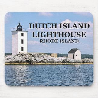 Farol holandês da ilha, Rhode - ilha Mousepad