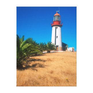 Farol, ilha de Robben, Cape Town Impressão De Canvas Esticadas