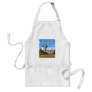 Farol principal de Dyce, avental do cozinhar de