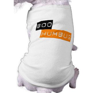 Farsa o anti Dia das Bruxas da vaia Camisa Sem Mangas Para Cachorro
