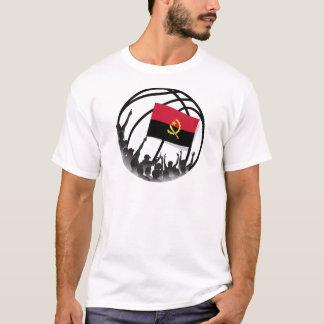 Fãs de basquetebol Angola Camiseta