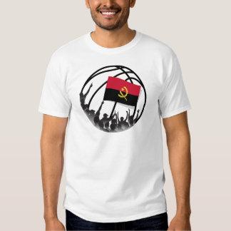 Fãs de basquetebol Angola Camisetas