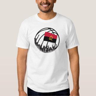 Fãs de basquetebol Angola Tshirts