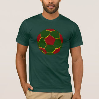 Fãs de Portugal do por do Bola Camiseta