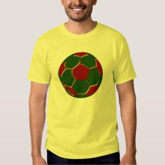 Fãs de Portugal do por do Bola Camisetas